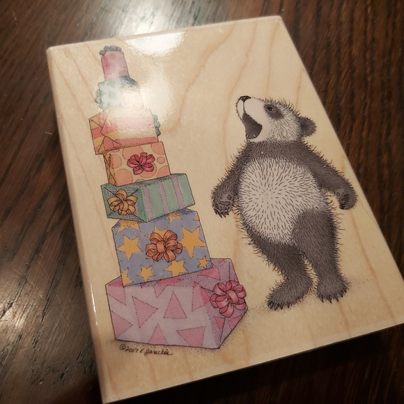 Gruffies gifts - scrapbook stamp- 2007retired